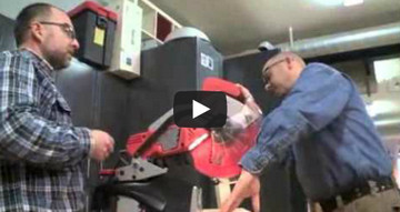 12-Inch Non-Sliding Mitre Saw Testing