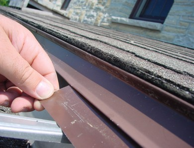 Eavestrough And Roof Leak Repair Without Goop