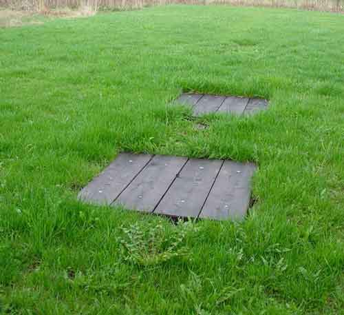 Septic Tank Access Hatch