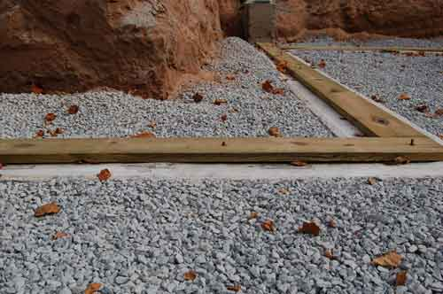 pressure treated sip foundations are warm dry and easy to build