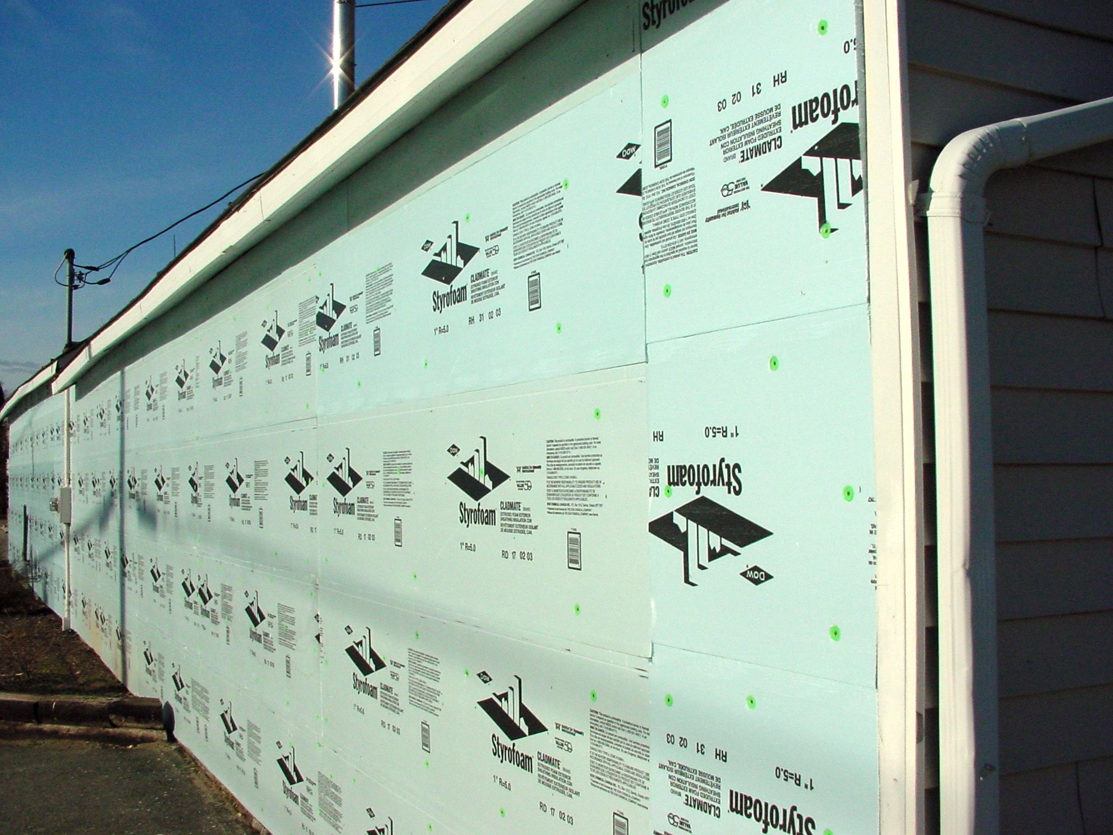 Wall Insulation Upgrade