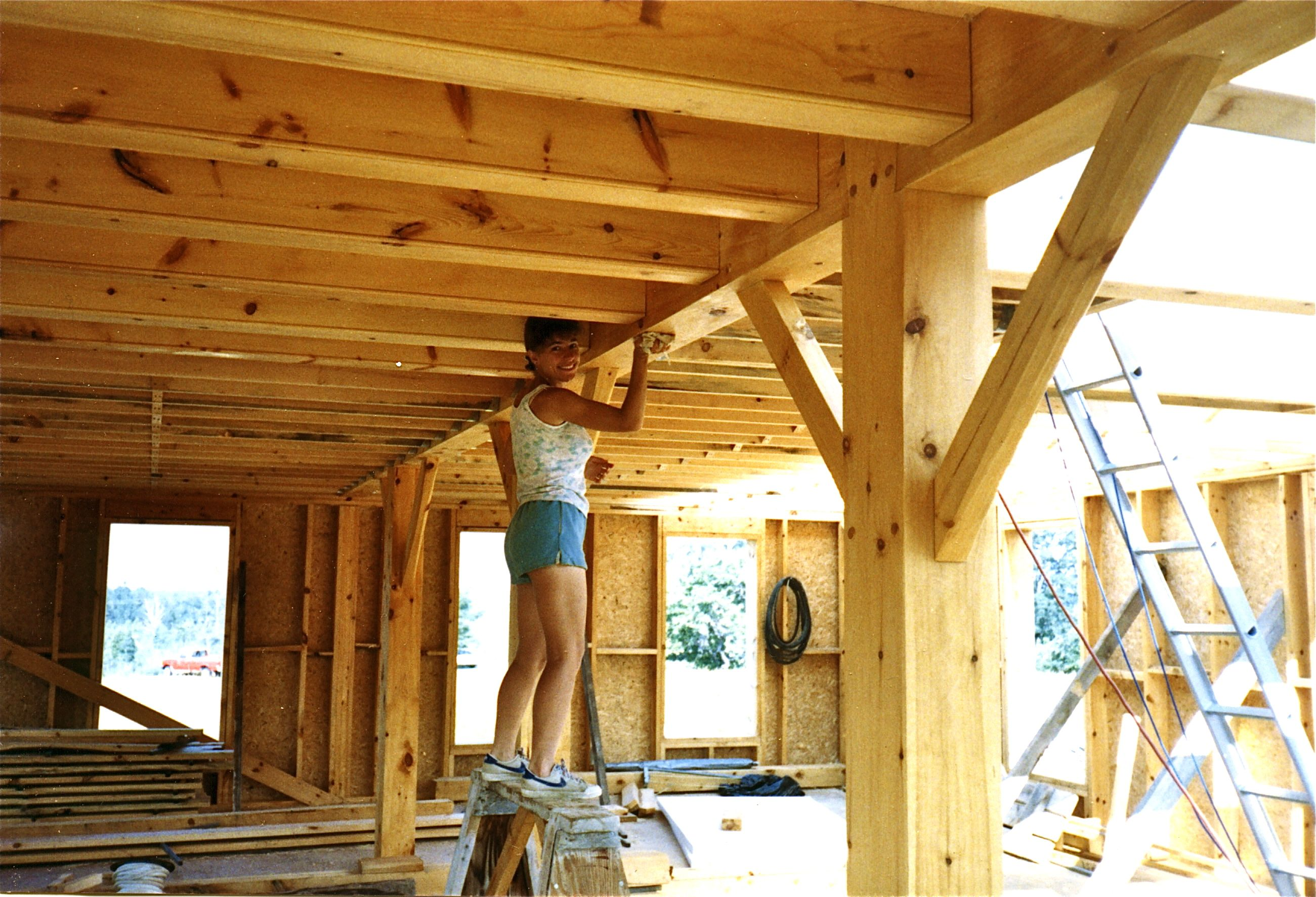 A Timber Framers Workshop Joinery Design Construction Of
